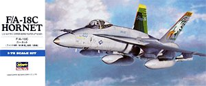 Hasegawa 00438 1:72, F/A-18C Hornet (U.S. NAVY Carrier-Borne Fighter Attacker)