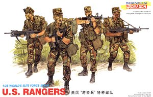 Dragon 3004 1:35, U.S. rangers