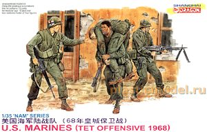 Dragon 3305 1:35, U.S. Marines (Tet offensive 1968)