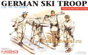 Dragon 6039 1:35, German ski troop