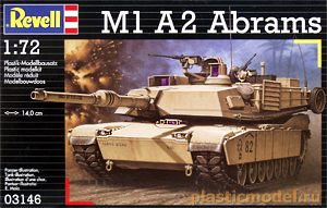 Revell 03146 1:72, M1 A2 Abrams