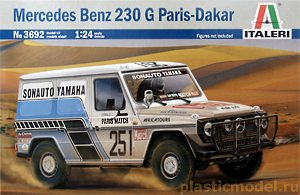 Italeri 3692 1:24, Mercedes Benz 230 G Paris-Dakar