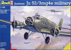 Revell 04521 1:48, Junkers Ju 52/3mg4 military