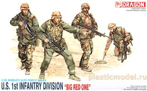 Dragon 3015 1:35, U.S. 1st Infantry Division `Big Red One`