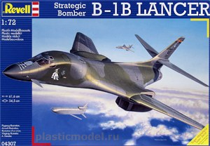 Revell 04307 1:72, Strategic Bomber B-1B `Lancer`