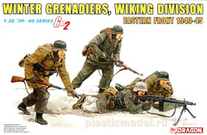Dragon 6372 1:35, Winter grenadiers, Wiking division, Eastern front 1943-45