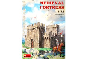 Miniart 72004 1:72, Medieval fortress