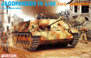 Dragon 9021 1:35, Jagdpanzer IV L/48 early production