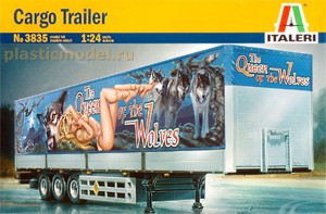 Italeri 3835 1:24, Cargo trailer `The Queen of the Wolves`