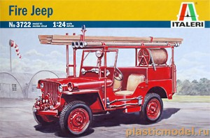 Italeri 3722 1:24, Fire Jeep