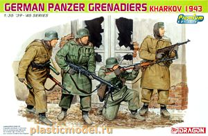 Dragon 6305 1:35, German Panzer Grenadiers, Kharkov 1943