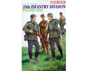 Dragon 6344 1:35, 28th Infantry Division, Poland 1939
