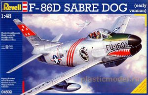 Revell 04502 1:48, F-86 SABRE DOG (early Version)