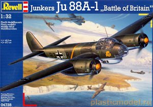 Revell 04728 1:32, Junkers Ju 88 A-1 `Battle of Britain`