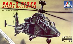 Italeri 196 1:72, PAH-2 Tiger attack helicopter