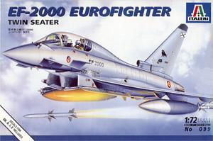 Italeri 099 1:72, EF-2000 Eurofighter twin seater (EF-2000 «Еврофайтер» двухместный вариант)