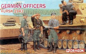 Dragon 6456 1:35, German Officers, Kursk 1943