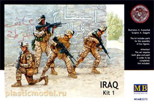 Master Box 3575 1:35, Iraq kit 1 (Ирак набор 1)