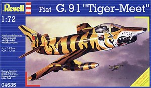 "Revell 04635 1:72, Fiat G.91 ""Tiger-Meet"""