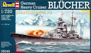 Revell 05049 1:720, German Heavy Cruiser  `Blucher`
