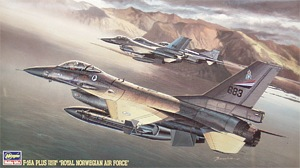 Hasegawa 06109 1:48, F-16A Plus Fighting Falcon (Royal Norwegian Air Force)