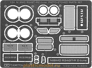 Tamiya 12604 1:24, Nismo R34 GT-R Z-tune Photo Etched Parts Set